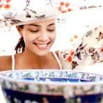 Парові ванни для обличчя, як робити парові ванночки, рецепти парових ванн