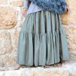 Спідниця багатоярусна: швидко, модно, зручно