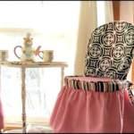Модне вбрання для меблів: чохли на стільці своїми руками