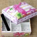 Коробка з паперу: створюємо корисні речі своїми руками