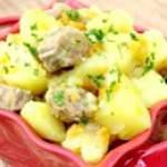 М'ясо з картоплею в мультиварці - рецепти приготування картоплі з м'ясом