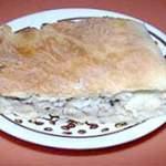 Пиріг з рибними консервами