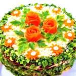 Рецепти новорічних салатів 2015, салати на новий рік 2015