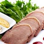 Салати з яловичого серця