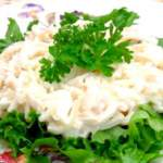 Салати з кальмарів