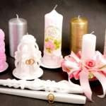 Весільні свічки: обов'язковий атрибут церемонії вінчання