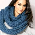 Теплий і затишний шарф труба: в'яжемо своїми руками