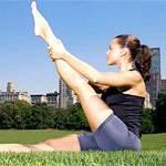 Вправи для м'язів стегна: вправи для передньої поверхні стегна, вправи для бічної (зовнішньої) поверхні стегна, вправи для внутрішньої поверхні стегна, вправи для м'язів сідниць і задньої поверхні стегна