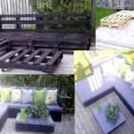 Оригінальна і практичні меблі з піддонів в домашніх умовах