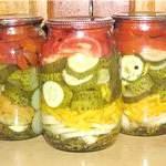 Салати з овочів на зиму рецепти з фото