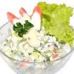 Салати з крабовим м'ясом - найкращі рецепти салатів з м'ясом краба