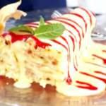 Торт «Наполеон» на сковороді